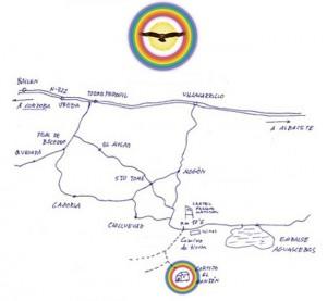 mapa el Monton