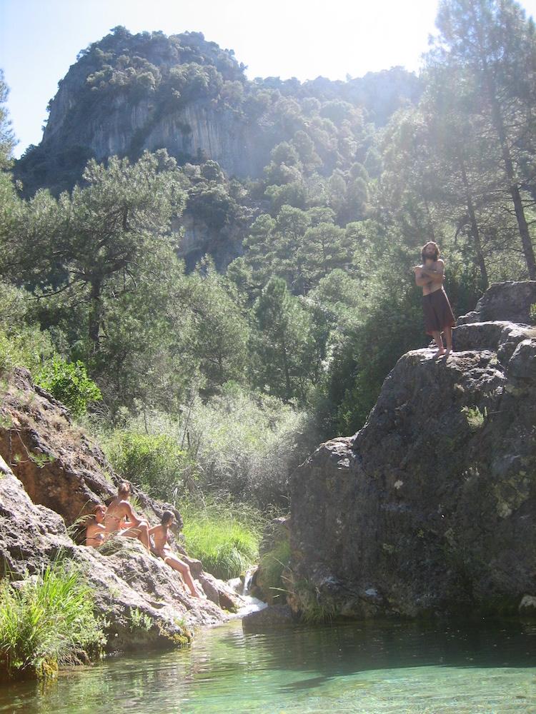 Poza rio Aguascebas