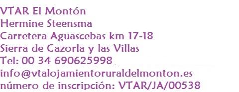 Contacto VTAR El Montón